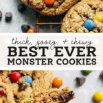 monster cookies pinterest
