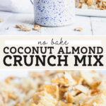 Coconut Almond Crunch pinterest graphic