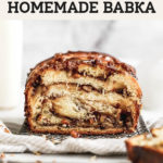 pecan pie babka pinterest graphic