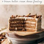 spice cake pinterest graphic
