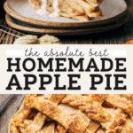 apple pie pinterest graphic