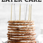 Chocolate Chip Cookie Layer Cake pinterest graphic