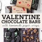 chocolate bars pinterest graphic