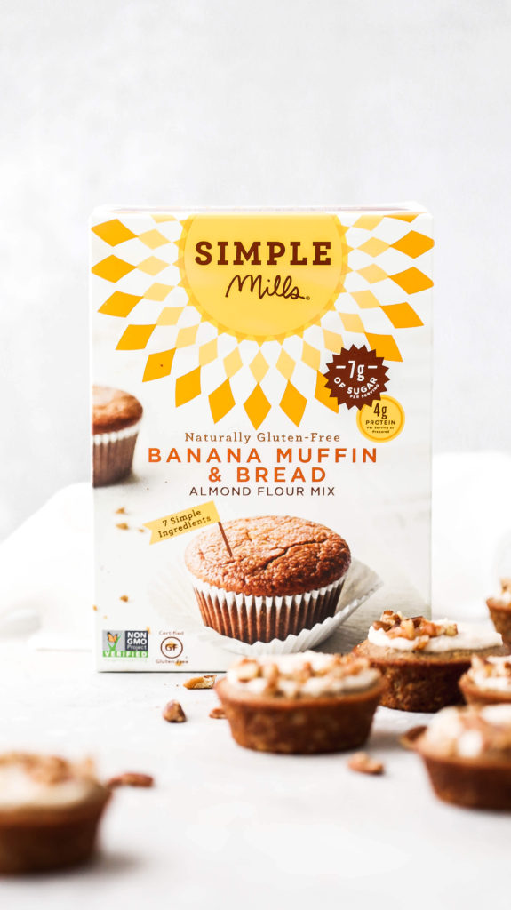 a box of simple mills banana bread mix