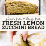 lemon zucchini bread pinterest graphic