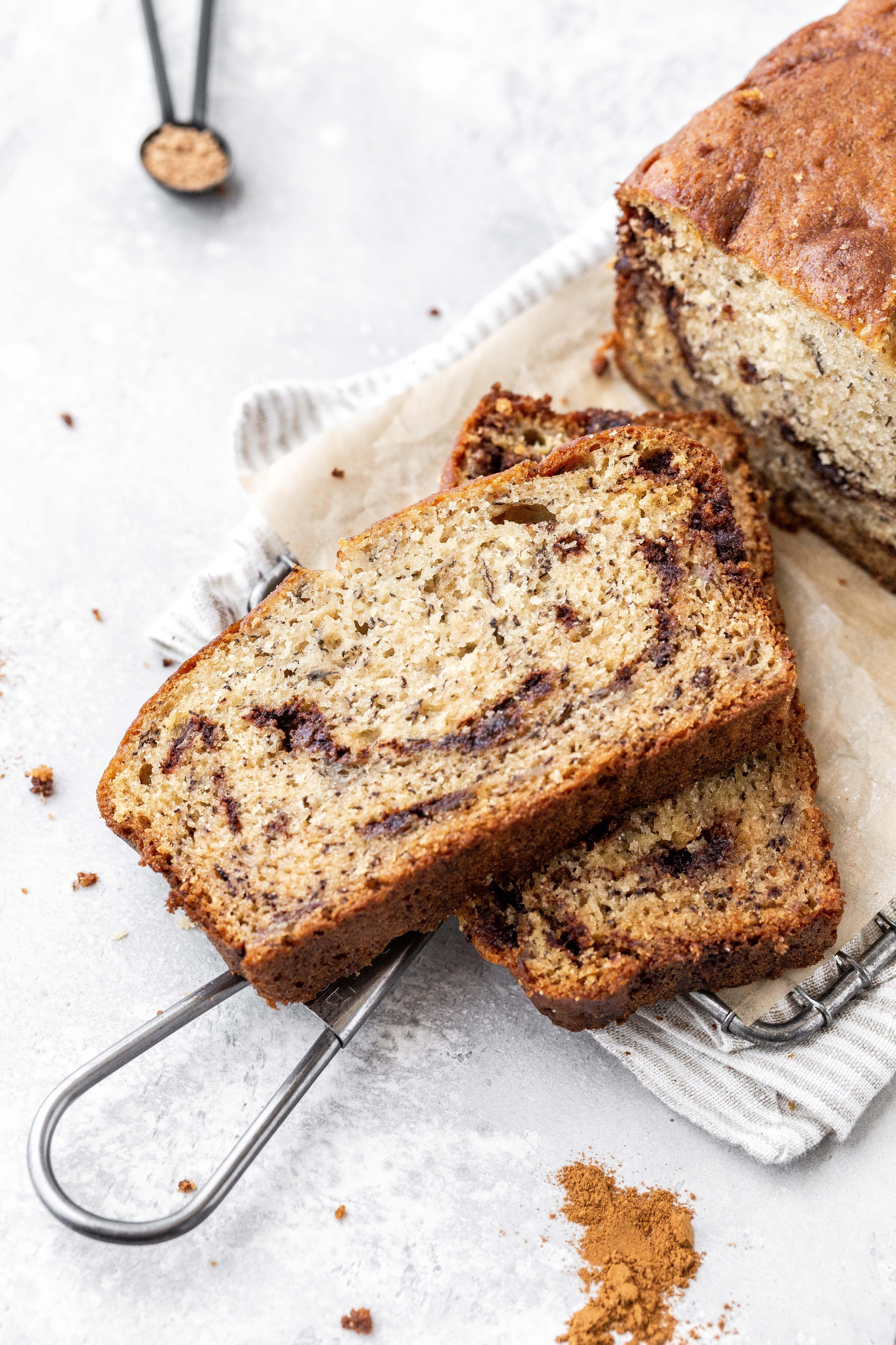 Moist Cinnamon Banana Bread Easy To Make Butternut Bakery
