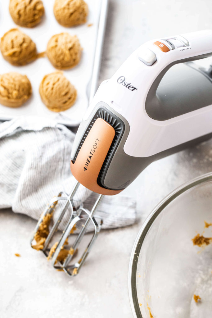 the new oster heatsoft hand mixer