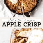 apple crisp pinterest graphic