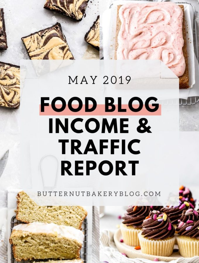 food blog income report for may 2019