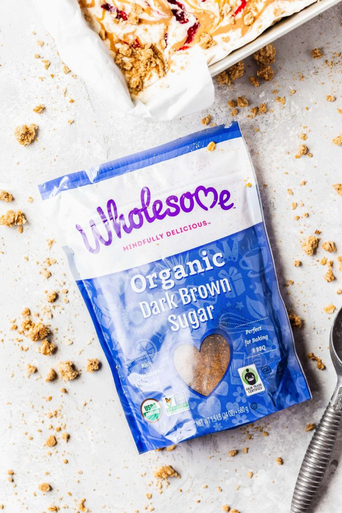 wholesome organic brown sugar to make oat crumbles