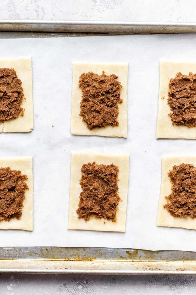 brown sugar cinnamon pop tart filling