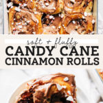 peppermint cinnamon rolls pinterest graphic