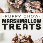 puppy chow marshmallow treats