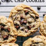 Gluten Free Chocolate Chip Cookies pinterest graphic