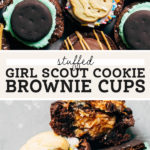 brownie cups pinterest graphic