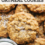 oatmeal cookies pinterest graphic