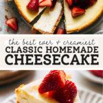 cheesecake pinterest graphic