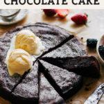 flourless olive oil cake pinterest