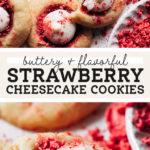 strawberry cheesecake cookies pinterest