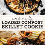 compost skillet cookie pinterest graphic