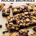 mocha brownies pinterest graphic