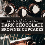 brownie cupcakes pinterest graphic