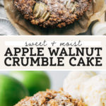 apple cake pinterest graphic