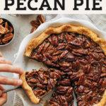 pecan pie pinterest graphic