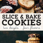 slice and bake cookies pinterest graphic