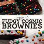 cosmic brownies pinterest graphic