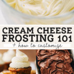 cream cheese frosting pinterest graphic