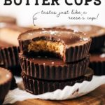 peanut butter cup pinterest graphic