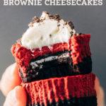 red velvet cheesecake pinterest graphic