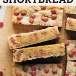 ruby chocolate shortbread pinterest graphic