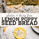 lemon poppy seed bread pinterest graphic