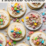 lucky charms cookies pinterest graphic