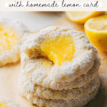 lemon bar cookies pinterest graphic