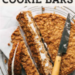 oatmeal cream pie cookie bars pinterest graphic