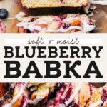Blueberry Babka pinterest graphic
