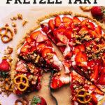 strawberry tart pinterest graphic