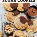neapolitan sugar cookies pinterest graphic