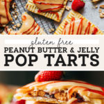 peanut butter and jelly pop tarts pinterest graphic