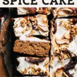 apple butter spice cake pinterest graphic