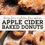 apple cider donuts pinterest graphic