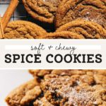 spice cookies pinterest graphic